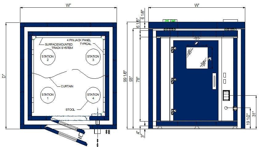 C Double Wall Multi-Station 2-10 Spec Sheet