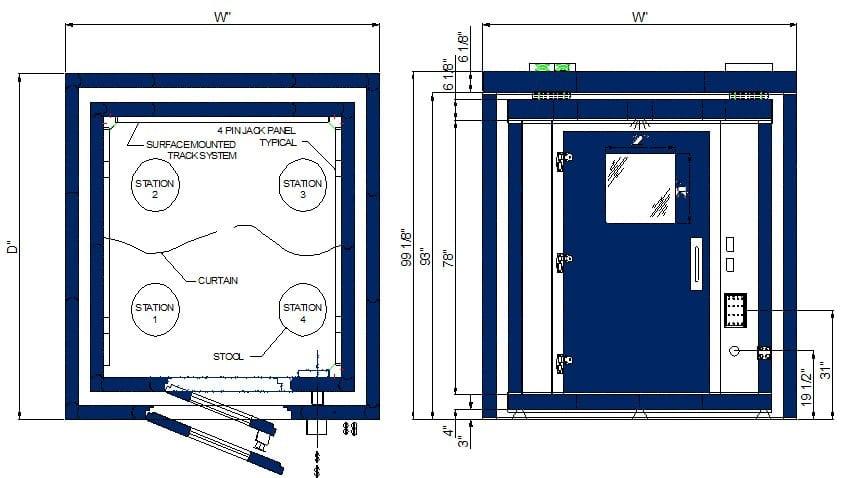 C Double Wall Multi-Station 2-10 Spec Sheet