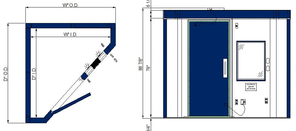 CL/HL 66-88 LP Single Wall Spec Sheet – Audiology Booths ... on